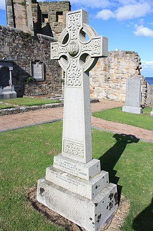 Lyon Playfair, 1st Baron Playfair - The grave of Lyon Playfair, East Cemetery, St Andrews