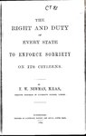 The right and duty of every state to enforce sobriety on its citizens.pdf