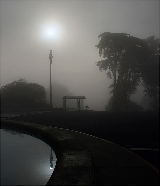 File:The sun, street light and Parallax  edit.jpg