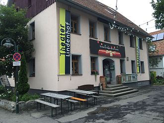 Theater Lindenhof - Theater Lindenhof, Main-Entrance (June 2015)