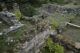 Ruines de la Cadmée à Thèbes