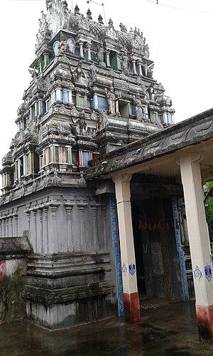 Thirukkavalampadi - View of the temple tower