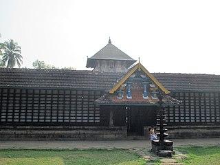 Thirunavaya Navamukunda Temple building in India