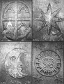 This is a close up picture of the alchemy symbols found on the Cross of Hendaye.png