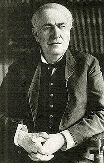 Thomas Edison (11/02/1847 - 18/10/1931) Inventor da Lâmpada