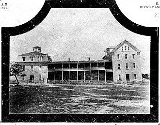 Texas Christian University - Thorp Spring, Texas, campus.