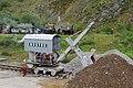Threlkeld Quarry & Mining Museum - train and navvy (geograph 4585364).jpg