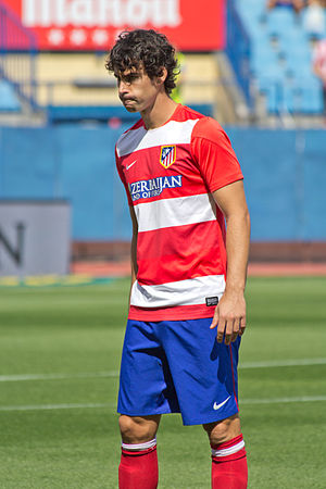 Tiago Mendes - Tiago as an Atlético Madrid player in 2013