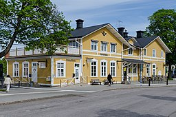Jernbanestationen, maj 2012