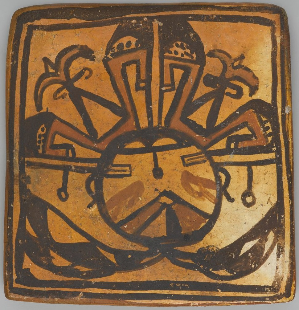 Tile, late 19th-early 20th century, X1047.7