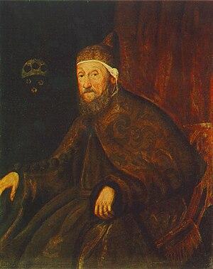 Loredan - Image: Tintoretto doge pietro loredano museum of fine arts budapest