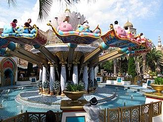 The Magic Carpets of Aladdin - Image: Tokyo Disney Sea The Magic Carpets of Aladdin 201306