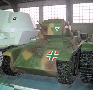 Hungarian Toldi I light tank at Kubinka Tank M...