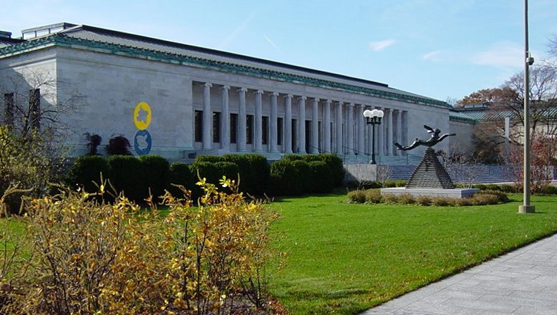 Toledo Museum of Art Monroe Street entrance
