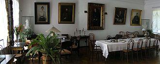 Yasnaya Polyana - Dining room in Yasnaya Polyana.