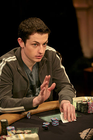 High Stakes Poker - In Season 5, Tom Dwan (pictured) won a $919,600 pot against Barry Greenstein