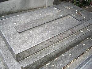 Raymond Abellio - Grave of Raymond Abellio in cimetière d'Auteuil.