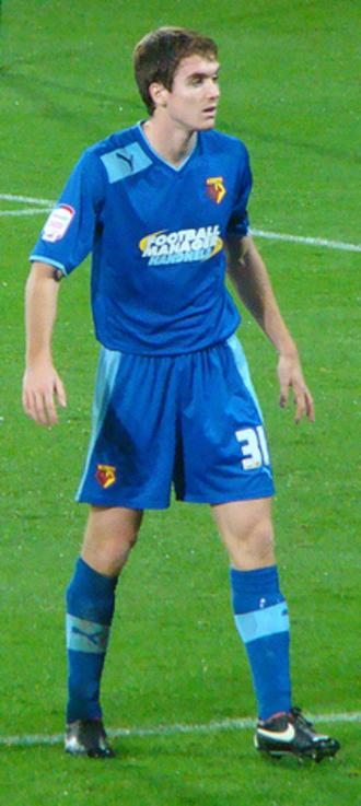 Tommie Hoban - Hoban playing for Watford in 2012