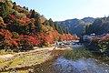 Tomoe-gawa River & Mount Iimori, Asuke-cho Toyota 2018.jpg