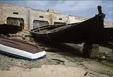 Imbarcazioni nei pressi della Tonnara del Secco