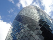 Le 30 St Mary Axe à Londres