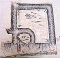 Topographic Relief with Trajans Bridge in Danubius Pannonico-Mysicus 1726 by Marsigli.jpg