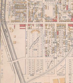 Sunlight Park - Area of Sunlight Park in 1890