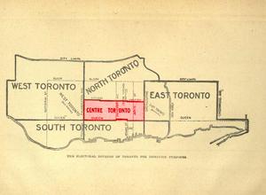 Toronto Centre - Image: Toronto Centre 1904