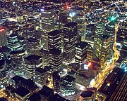 Toronto: Ontario's capital city and Canada's largest metropolis.