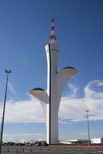 Television in Brazil - The Digital TV Tower Brasilia, dubbed Flor do Cerrado.