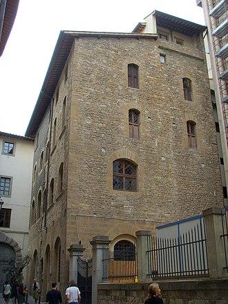 Accademia dei Georgofili - The Torre dei Pulci, seat of the archive of the academy