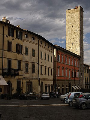 Città di Castello - Civic tower of the Cathedral Square