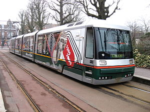 Lille tramway - Image: Tourcoing tram a Victoire