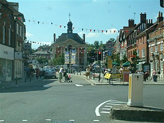 Henley-on-Thames Town in Oxfordshire, England