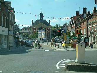 Henley-on-Thames - Image: Town Hall, Henley geograph.org.uk 36320