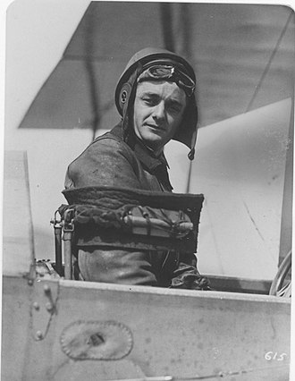 Townsend F. Dodd - Captain Dodd seated in his aircraft
