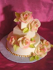 Image Result For Rose Decorated Birthday Cake