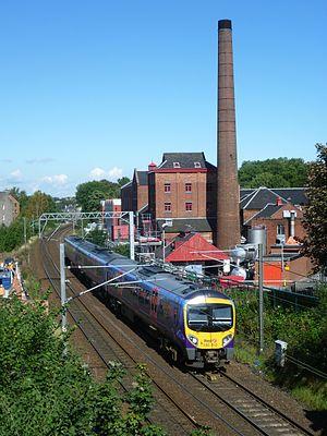 Caledonian Railway - Former Caledonian Main Line, Edinburgh 2011