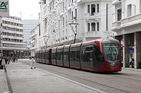 Tram in Casablanca 2013.JPG