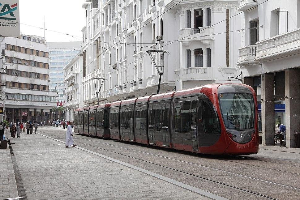Tram in Casablanca 2013