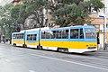 Tram in Sofia mear Macedonia place 2012 PD 023.jpg