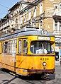 Tram in Sofia near Central mineral bath 2012 PD 056.jpg