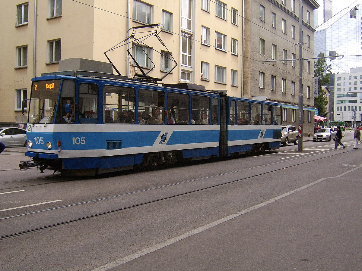 tramway de tallinn wikip dia. Black Bedroom Furniture Sets. Home Design Ideas