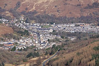 Treorchy Human settlement in Wales