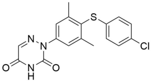 Coccidiostat - Image: Triazuril structure