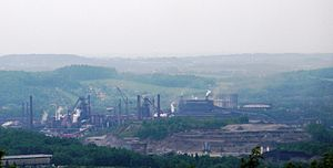 Třinec Iron and Steel Works - Třinec Iron and Steel Works today