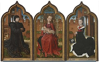 Triptych  of Jean de Witte and Maria Hoose