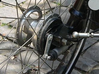 ZF Sachs - Vintage hydraulic bicycle drum brake manufactured by Sachs