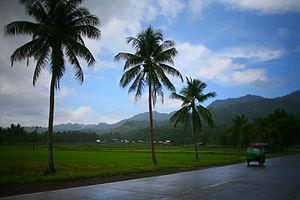 Agusan del Norte - Landscape in Tubay