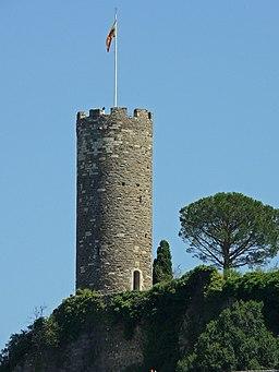 Turenne - Château - Tour de César